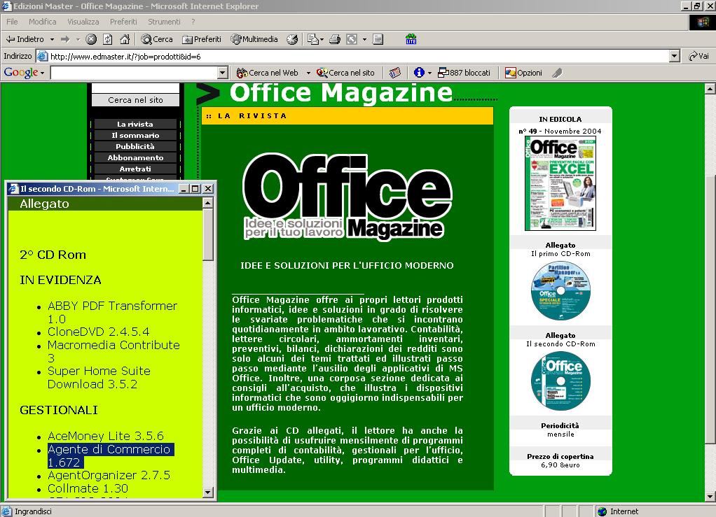 Articolo Office magazine